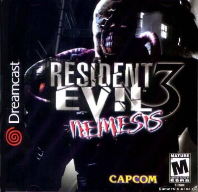 Resident evil 3 nemesis 2000 dc